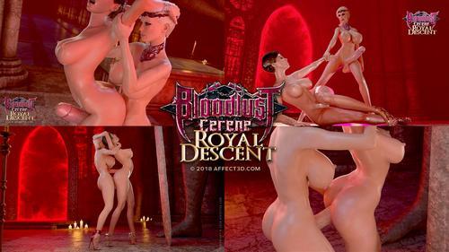 Filme porno hentai 3D Bloodlust Cerene Royal Descent . 2