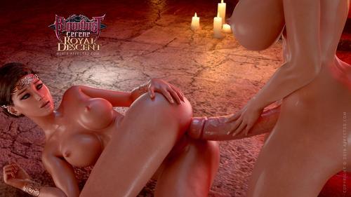 Filme porno hentai 3D Bloodlust Cerene Royal Descent .