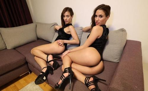 Porno cu gemene sexy Nikky and Kitty sex in trei 2019 .